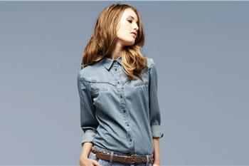 La chemise en jean dans tous ses états !