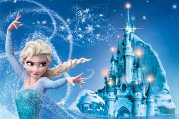 Portrait d 39 elsa h ro ne de la reine des neiges par walt - Chateau de la reine des neige ...