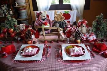 Dresser une table de no l traditionnelle journal des femmes - Art de la table noel ...