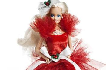 """Barbie """"Joyeux Noël"""" : 25 ans de poupées collector"""