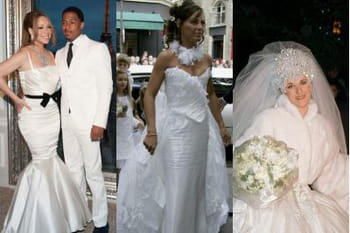 Les pires robes de mariée de stars