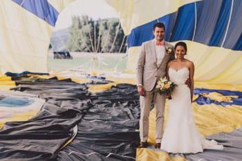 Un mariage en montgolfière : direction le 7e ciel !