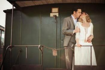 Mariage années 20 : embarquez dans un train !