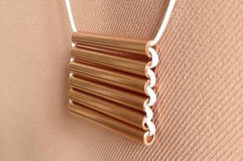 DIY : un collier en cuivre chic et trendy