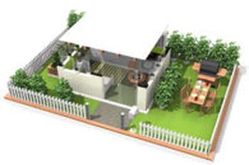 10 plans 3d de maisons sympas avec homebyme journal des femmes. Black Bedroom Furniture Sets. Home Design Ideas