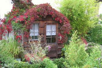 Ces cabanes au fond du jardin