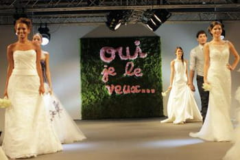 Grand Salon du Mariage 2014 : le défilé des robes de mariée