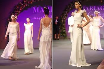 Salon Mariage au Carrousel : le défilé des robes de mariée