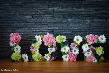 DIY : un mot d'amour à fleurir