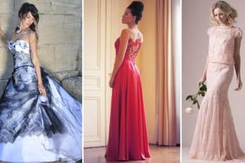 Robes de mariée : vive la couleur !