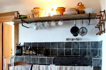 Cr dences de cuisine style carrelage en impression - Credence a coller ikea ...