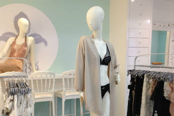 Visite du Salon Couture Maison Lejaby, l'espace privé grand luxe de la lingerie