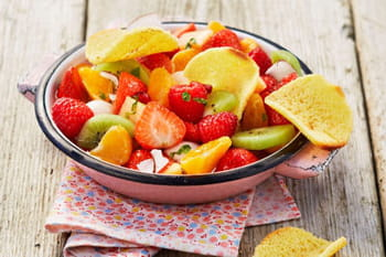 Desserts légers de l'été