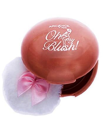 5 blushs testés