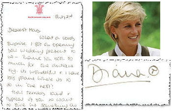 les lettres in dites de la princesse diana les lettres in dites de la princesse diana. Black Bedroom Furniture Sets. Home Design Ideas