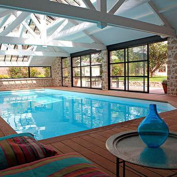 Cosy 10 piscines d 39 int rieur pour nager toute l 39 ann e journal des - Christine caron piscine ...