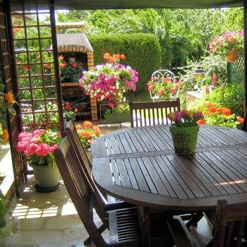 Sur la terrasse ou le balcon prot ger ses plantes en for Plantes de balcon en hiver