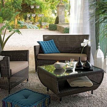 Ambiance exotique mobilier et salon de jardin journal for Salon de jardin truffaut