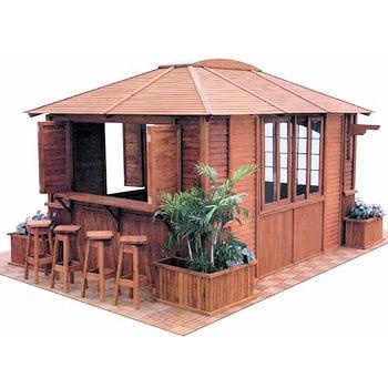 une cabane pour toutes les occasions le bois pour un jardin chaleureux et naturel journal. Black Bedroom Furniture Sets. Home Design Ideas