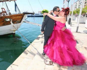 Le mariage rose bonbon d'Aurélie