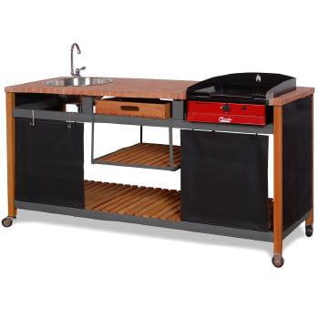 un plan de travail pour l 39 ext rieur des barbecues pour tous les go ts journal des femmes. Black Bedroom Furniture Sets. Home Design Ideas