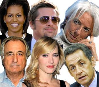 Stars influentes 2009