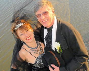 Les mariés étaient... en noir !