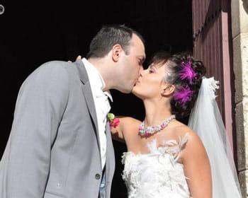 Le mariage rock et baroque d'Aurélie