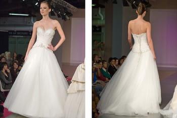 Défilé de robes de mariée