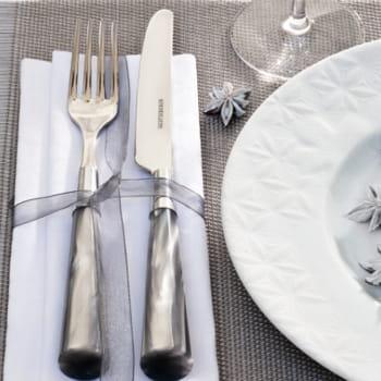Fleurs discr tes art de la table ma vaisselle pour tous les jours journ - Vaisselle genevieve lethu ...
