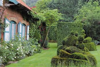 Les jardins d'inspiration flamande de la ferme du Mont des Récollets