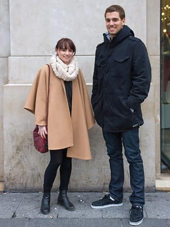 Street looks : de beaux couples pour la Saint-Valentin