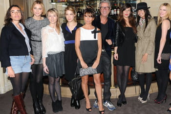 "Toutes fans de la collection ""Black Carpet 2011"" de Paule Ka"