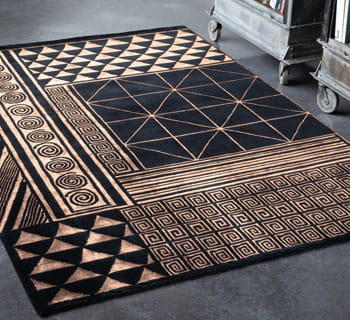 des motifs simples et graphiques. Black Bedroom Furniture Sets. Home Design Ideas