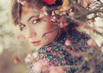 Les portraits oniriques d'Alexandra Sophie