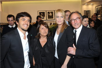 Les people inaugurent la nouvelle boutique Gérard Darel à Paris