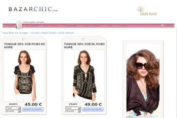 Dans les coulisses du site de vente en ligne BazarChic.com