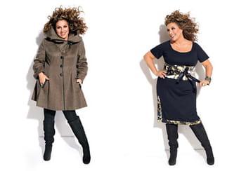"""Marianne James:""""Les femmes rondes ont fait le deuil de s'habiller comme tout le monde"""""""