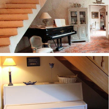 place la musique am nager son dessous d 39 escalier journal des femmes. Black Bedroom Furniture Sets. Home Design Ideas