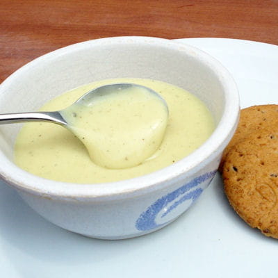 cr 232 me vanille au lait de noisette sans lait sans gluten sans oeufs 30 desserts express