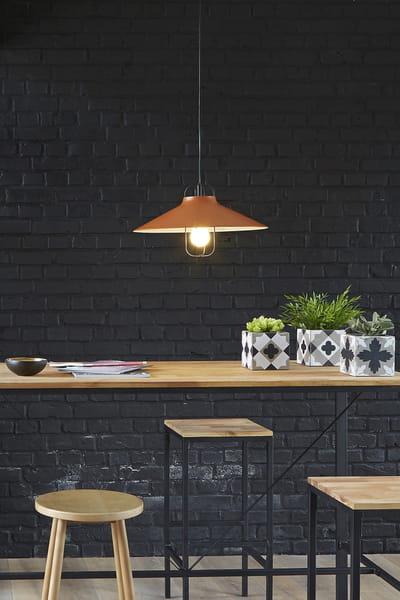 suspension en m tal de la redoute quelle suspension au dessus de la table manger journal. Black Bedroom Furniture Sets. Home Design Ideas