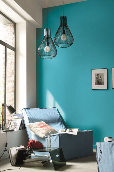 peinture colours classic atoll de castorama peinture on ose la couleur journal des femmes. Black Bedroom Furniture Sets. Home Design Ideas