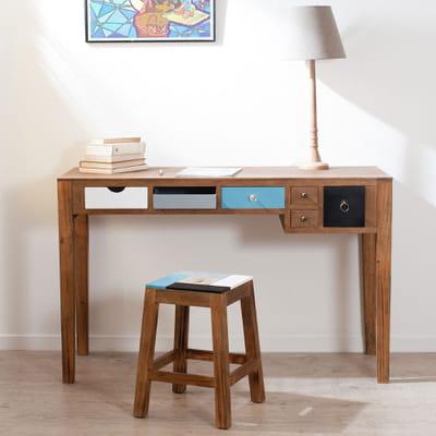 Le bureau marius sur 13 bureaux en bois pour une rentr e stud - Bureau bois exotique ...