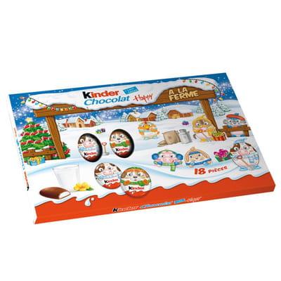 kinder chocolat happy no l 2015 les cadeaux gourmands. Black Bedroom Furniture Sets. Home Design Ideas