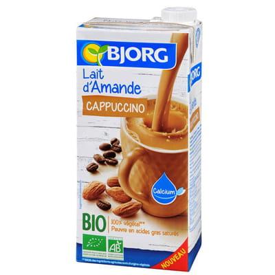 Lait d 39 amande cappuccino de bjorg les coups de coeur for Amande cuisine bjorg