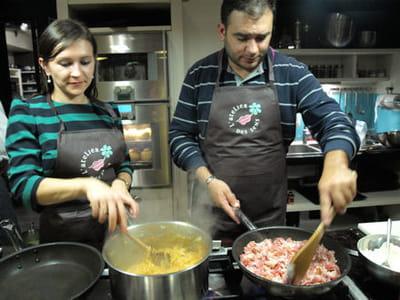 après la préparation des aliments, on passe à la cuisson.