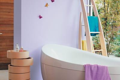 Peinture ultra resist salle de bains de dulux valentine - Peinture salle de bain dulux valentine ...
