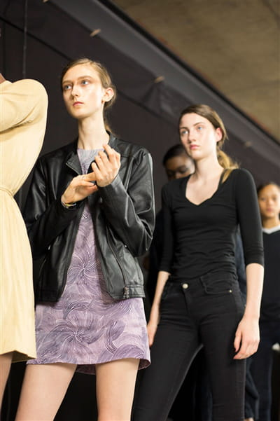 Dries Van Noten (Backstage) - Printemps-été 2017