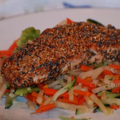 saumon en croûte