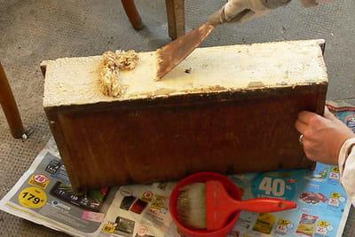 Fabriquez un présentoir à bijoux avec des tiroirs. 1048994-etape-2-nettoyez-les-tiroirs